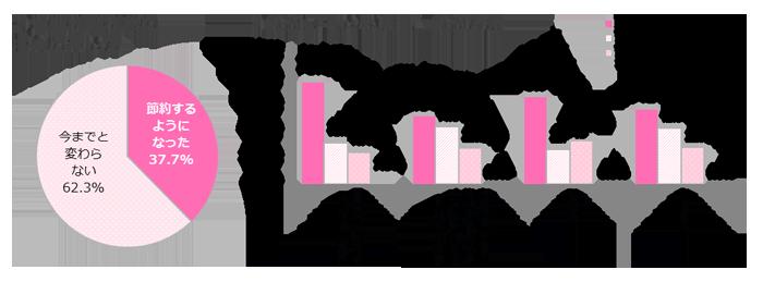 GIRLS'TREND 研究所 消費税調査グラフ