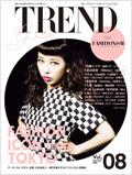 雑誌GIRLS'TREND 8号表紙