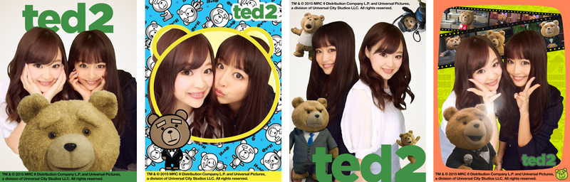 TEDプリントシール