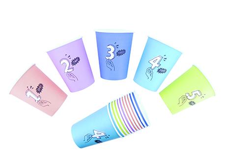 紙コップセット デザイン例