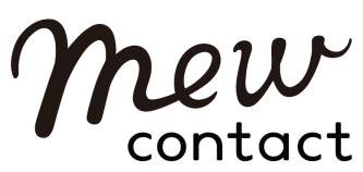 『Mew contact(ミューコンタクト)』ロゴ