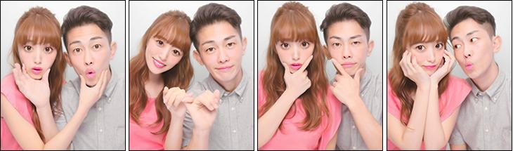 モデル近藤千尋さん・お笑い芸人ジャングルポケット太田博久さん夫婦をカップルコースのイメージモデルに採用