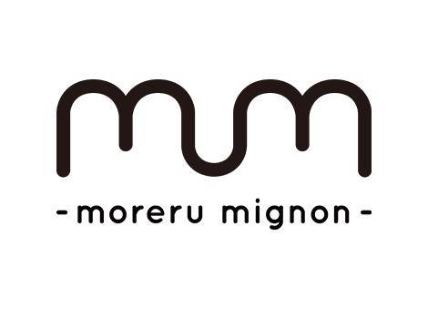 『moreru mignon(もれるミニョン)』ロゴ