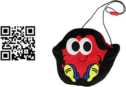QRコード「Lippy」グッズ