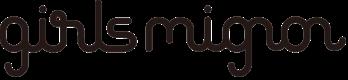 『girls mignon』ロゴ