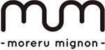 『moreru mignon(モレルミニョン)』ロゴ