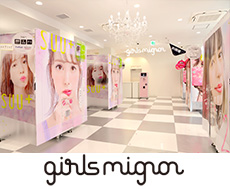 『girls mignon』イメージ