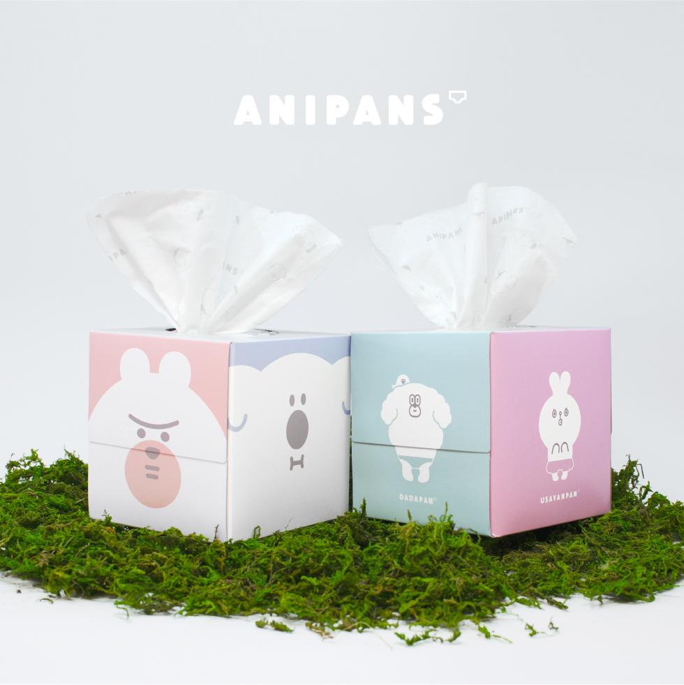 『ANIPANS』 BOXティッシュ