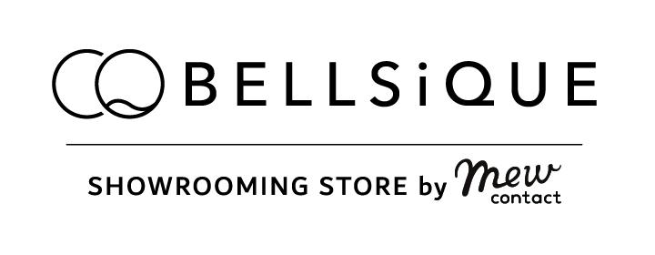 『BELLSiQUEショールーミングストア by Mew contact』ロゴ